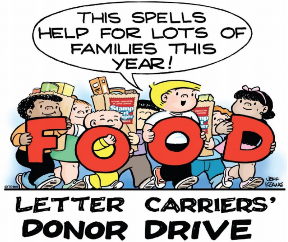 Stamp Out Hunger Donor Drive